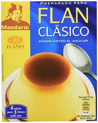 Mandarín Preparado Para Flan Clásico, 6 Sobres