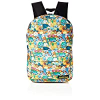 Bioworld BIO-BP060805POK Pokemon All-over Characters Print Backpack Casual Daypack, Multicolour, 45 cm, 15 Litres