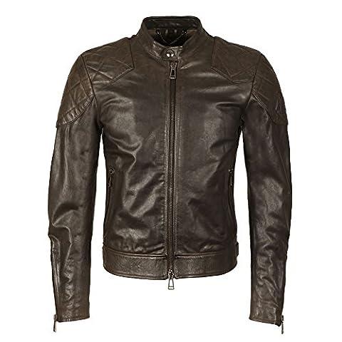 Belstaff - Outlaw Leather Jacket, Black, 58