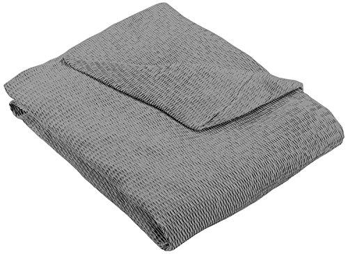 Martina Home Tunez - Copridivano elastico, Tela, 3 posti da 180 a 240 cm di larghezza, colore Grigio