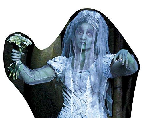 erdbeer-party - Halloween Dekoration Cardboard Zombie Braut Party 1 Stück, 55x68cm (Braut Kostüme Kind Sarg)