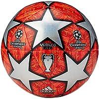 adidas Finale M TCPT Balón de Fútbol, Hombre, Top:Multicolor/Active Red/Scarlet/Solar Red Bottom:Bright Orange/Solar Gold/Black, 5