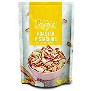 Gourmia Roasted Pistachios, Lightly Salted, 200g