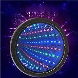 CDXDSV Lámpara de la etapa tranquila relajante de la pared del túnel LED de la luz del espejo sensorial del infinito CDXDSV