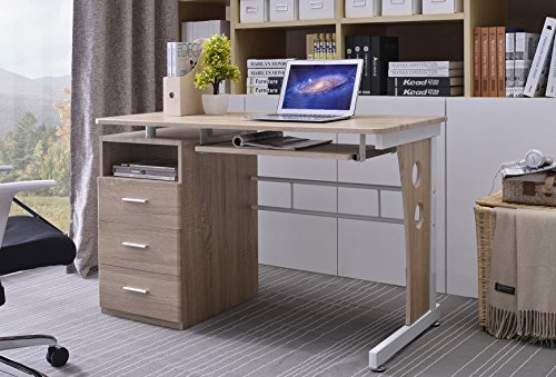 Homcom scrivania pc tavolo per computer porta pc scrivanie usato