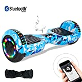 Windgoo Hoverboard 6.5' Balance Board Patinete Eléctrico Scooter Talla LED 350W*2 (Hip-Hop)
