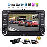 Best EinCar Camera For Cars - 7 Inch Car Radio Touch Screen Double Head Review