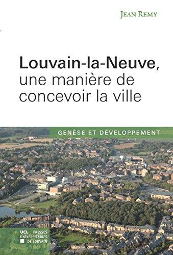 Louvain-la-Neuve, une manière de concevoir la ville: Genèse et évolution