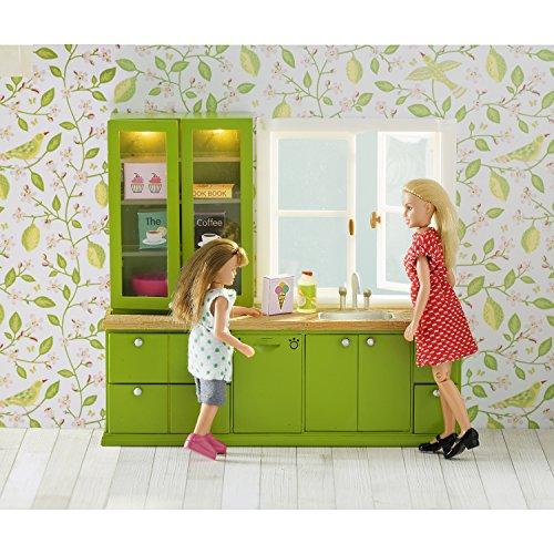 Lundby 60.2077.00 - Lavello e lavastoviglie per casa delle bambole