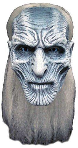 iß Walker Spiel von Thron Halloween Horror TV Buch Film Profi-Qualität Theater Cosplay Konvention Kostüm Kleid Outfit Maske (Uhr Halloween-horror-filme)