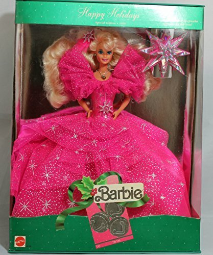 Mattel Happy Holidays 1990 by Mattel