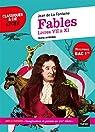 Fables de La Fontaine, Livres VII à XI : suivi du parcours « Imagination et pensée au XVIIe siècle » par La Fontaine