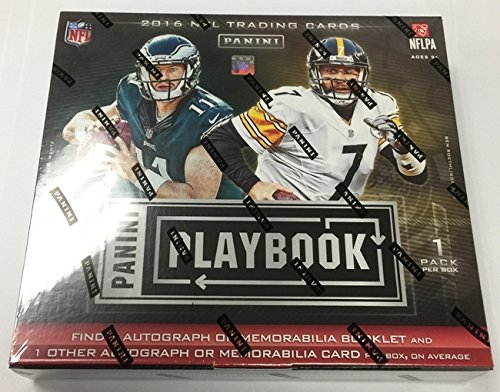 2016 Panini Playbook Football Hobby Box NFL (Nfl Karten Football)