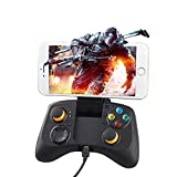 Bluetooth sans fil Contrôleur de jeu Manette de jeu PC Joystick avec clip pour téléphone mobile Android et iOS iPhone Ti-582