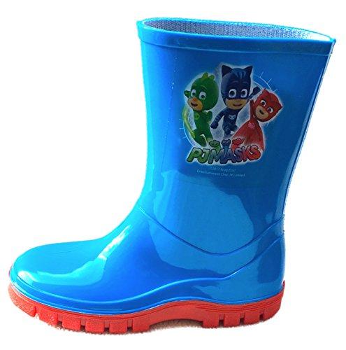 PJ Masks Kids Wellies Wellington Boots Sizes 5 6 7 8 9 10