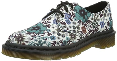 Dr. Martens Damen Lester T Canvas Off White Derby Weiß (White)