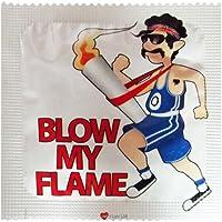 I Luv LTD Blow My Flamme Neuheit Condom 3er Pack preisvergleich bei billige-tabletten.eu