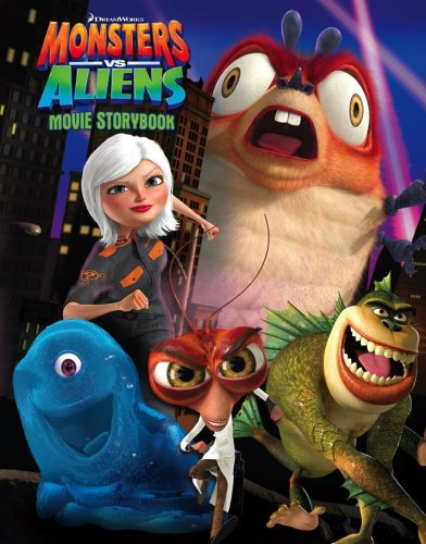 Monsters Vs Aliens – Movie Storybook
