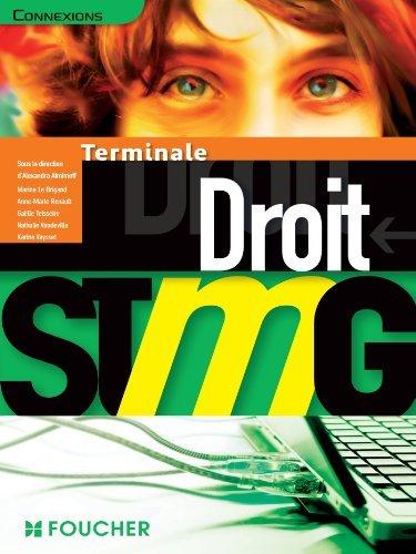 Connexions Droit Tle Bac STMG de Anne-Marie Renault (2 mai 2013) Broché