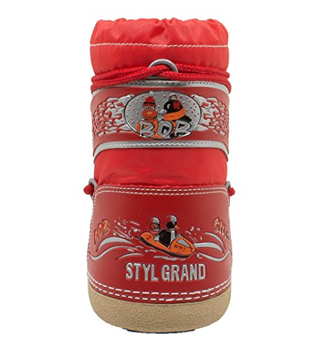 Styl Grand - Bob - Apres-ski Junior Rouge