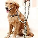 Hinzufügen von Bite-Proof lange Hund großer Hund Seil Ketten Tibet Mastiff Jinmaosamohashiqi Chow 170 * 0,6, armee grün, XL 170 * 0,6