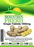 Ginger 1000mg x 365 1 YEARS Supply All Natural Tablets Max Strength