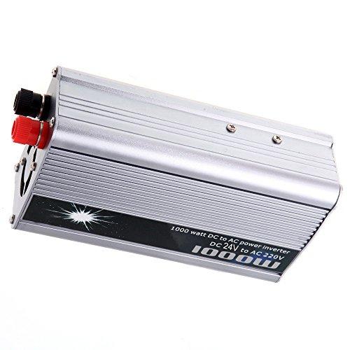 Preisvergleich Produktbild BoomBoost beweglicher 1000W auto Energien Inverter Adapter USB DC 24V Auto Wechselrichter 220V Aufladeeinheits Konverter