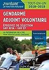 Gendarme adjoint volontaire - Epreuves de sélection GAV - Catégorie C - Tout-en-un