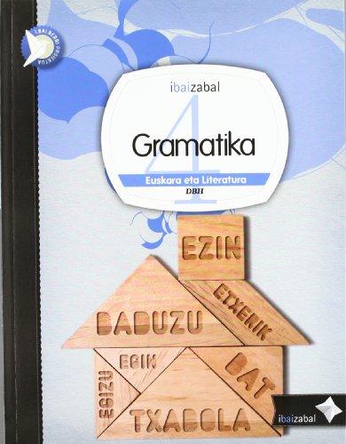 Gramatika Dbh 4, ikaslearen materiala (i.bai.berri proiektua) - 9788483946442 por Zezilio Salas Urbina