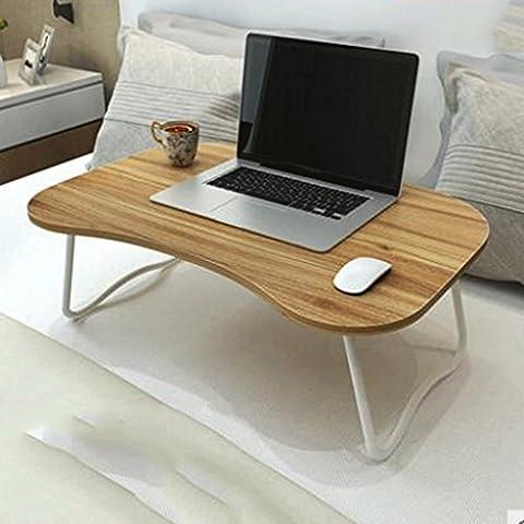 GAOLILI Laptop-Computer-Tabelle mit faltenden kleinen Tisch College Student Schlafsaal Faul