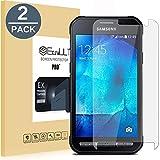 EasyULT Panzerglas Samsung Galaxy Xcover 3[2 Stück], Displayschutz Folie Panzerglasfolie Glas Schutzfolie Displayschutzfolie für Samsung Galaxy Xcover 3