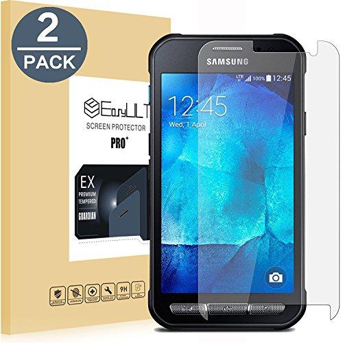 EasyULT Panzerglas Für Galaxy Xcover 3[2 Stück], Bildschirmschutz Folie Panzerglasfolie Glas Schutzfolie Bildschirmschutzfolie für Galaxy Xcover 3