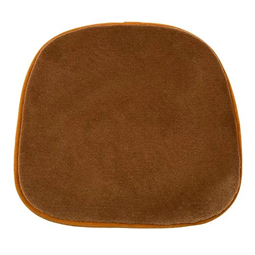 Universal Fit Auto Sitz Bezug, Stuhl Sofa Kissen natur Wolle Pelz Leder Shearling Seat Pad für Auto, Auto, Büro, Küche, Reisen, Zuhause (Wolle Combo)
