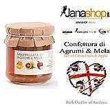 AGRUMI & MELA CONFETTURA, Confettura di Agrumi e Mela, 220 gr. Prodotti Sardi