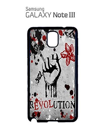 Revulation Love Rose Hand Flower Design Cool Mobile Phone Case Samsung Galaxy S3 Black Noir