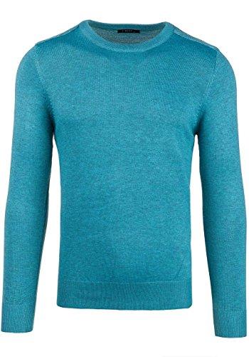 BOLF Herrenpullover Pulli Sweatshirt Sweatjacke Sweater Top MIX Türkis_889