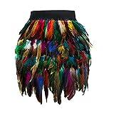 Vectry Faldas Multicolor Falda Desigual Faldas Mujer Cortas Faldas Tul Mujer Falda Vaquera Faldas Tutu Nina Falda Larga Mujer Faldas Cortas con Vuelo