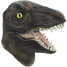 Molezu máscara de dinosaurio, Máscara de dinosaurio halloween, Novedosa máscara de fiesta de látex