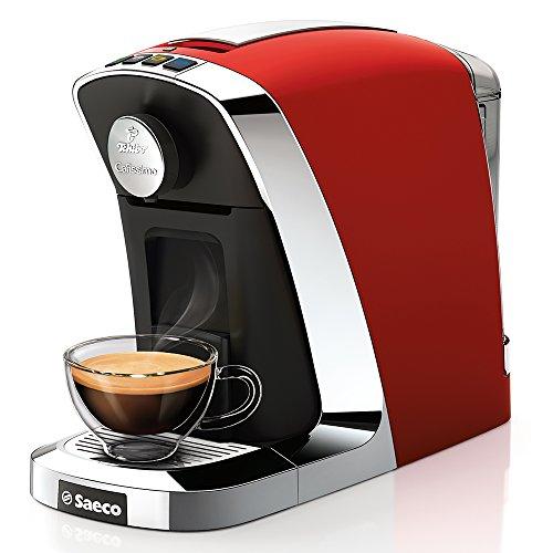 Tchibo Saeco Cafissimo Tuttocaffé Kapselmaschine (für Kaffee, Espresso, Caffé Crema und Tee) schwarz