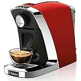 Tchibo Saeco Cafissimo Tuttocaffè Kapselmaschine für Kaffee, Espresso und Caffè Crema, Rosso