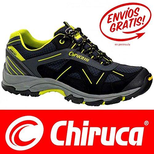 CHIRUCA Scarpe sportive da trekking modello Sumatra GTX 11 Gore TEX, nero, 45