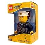 LEGO-City-9002274-Sveglia-retroilluminata-per-bambini-minifigure-poliziotto