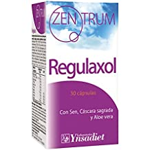 Zentrum Regulaxol Regularidad Intestinal con Sen, Cáscara Sagrada y Aloe Vera - 30 Cápsulas