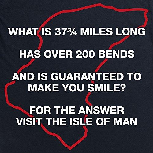 Visit The Isle Of Man T-Shirt, Herren Schwarz