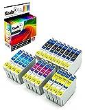 Koala 20 Druckerpatronen kompatibel für Epson18XL T1811-T1814 für Epson XP-30 XP-102 XP-202 XP-305 XP-405 XP-205 XP-302 XP-402 XP-415 XP-412 XP-315 XP-312 XP-215 8*Schwarz 4*Cyan 4*Magenta 4*Gelb