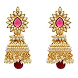Sitashi Pearl Chandbali jhumki Ear Rings...
