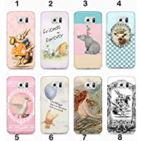 "Handmade Handyschale, Handy Cover iPhone, Samsung Galaxy"" Winnie Poo/Alice Wonderland"""