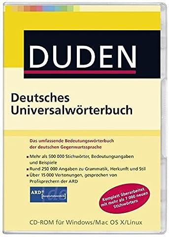 DUDEN: Deutsches Universalwörterbuch