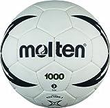 Molten Handball H3X1000, Weiß/Schwarz/Gold, Gr. 3