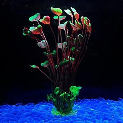 Vi.yo Artificial Water Grass Large Plastic Aquarium Plant Fish Tank Aquarium Landscape Underwater Decoration Non- toxic… 9